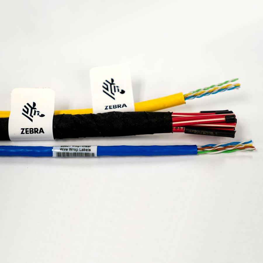 Etiquettes pour câbles