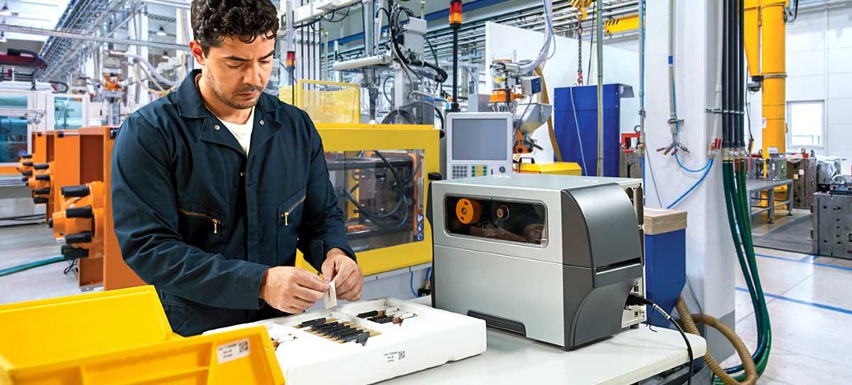 Lecteur code-barres secteur industriel